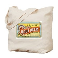 Vintage Root Beer Ad Tote Bag
