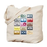 Mixtapes Color Cassette Tote Bag