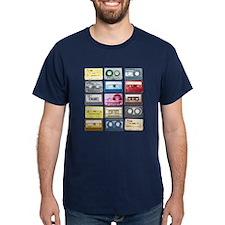 Mixtapes Color Cassette T-Shirt