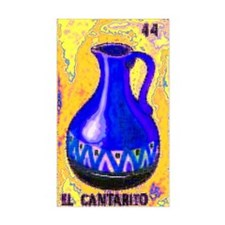 El Cantarito Rectangle Decal