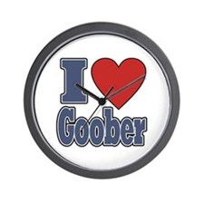I Love Goober Wall Clock