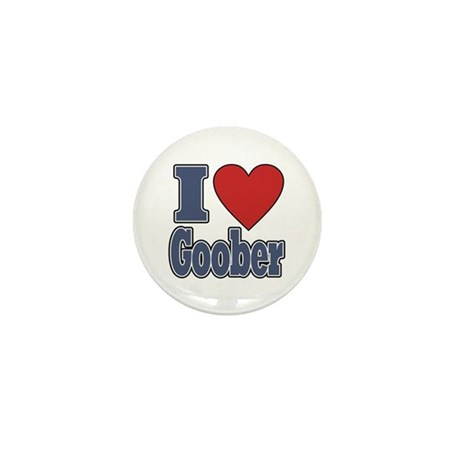 I Love Goober Mini Button (100 pack)