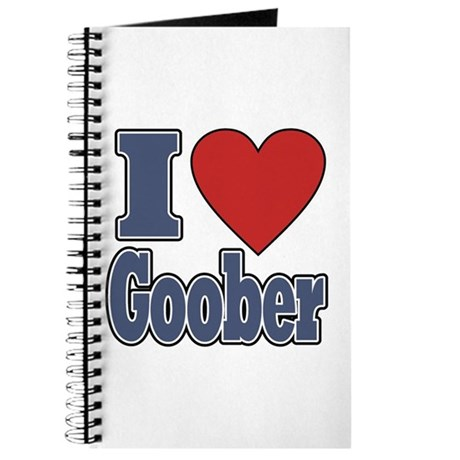 I Love Goober Journal