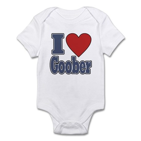 I Love Goober Infant Bodysuit