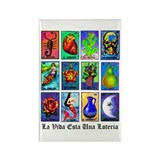 Loteria Celeste Rectangle Magnet