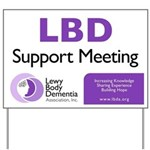 LBDA Caregiver Meeting Yard Sign