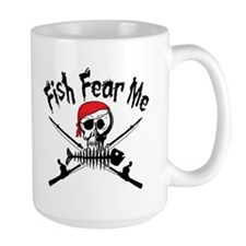 Fish Fear Me Coffee Mug