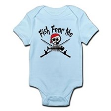 Fish Fear Me Infant Bodysuit