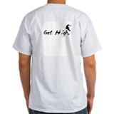 Get High Snowboarding T-Shirt