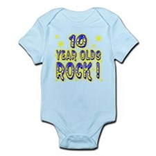 10 Year Olds Rock ! Infant Bodysuit
