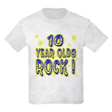 10 Year Olds Rock ! T-Shirt