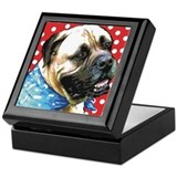 Dapper Bullmastiff Keepsake Box