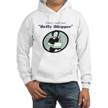 Betty Blogger Lady Hooded Sweatshirt