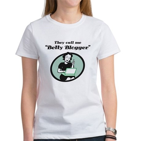 Betty Blogger Lady Women's T-Shirt