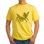 Pegasus Yellow T-Shirt
