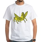 Pegasus White T-Shirt