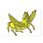 Pegasus Postcards (Package of 8)