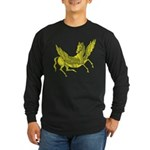 Pegasus Long Sleeve Dark T-Shirt