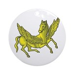 Pegasus Ornament (Round)