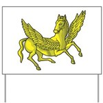 Pegasus Yard Sign