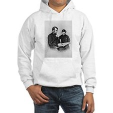 Lincoln Reading to Son Tod Hoodie