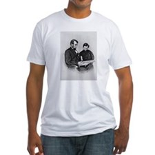 Lincoln Reading to Son Tod Shirt