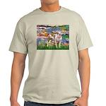 Lilies & Pitbull Light T-Shirt