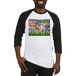 Lilies & Pitbull Baseball Jersey