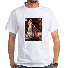 The Accolade / Pitbull White T-Shirt