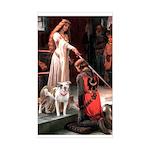 The Accolade / Pitbull Sticker (Rectangle)