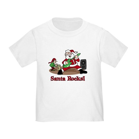 Santa Rocks Toddler T-Shirt