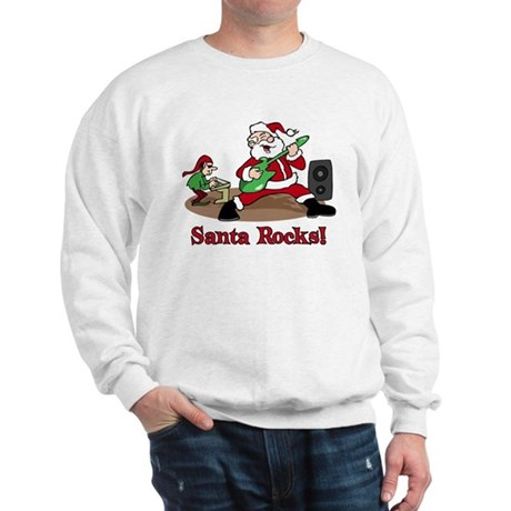 Santa Rocks Sweatshirt
