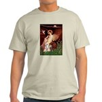 Seated Angel / Pitbull Light T-Shirt