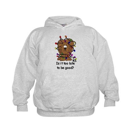 Too late to be good? Kids Hoodie