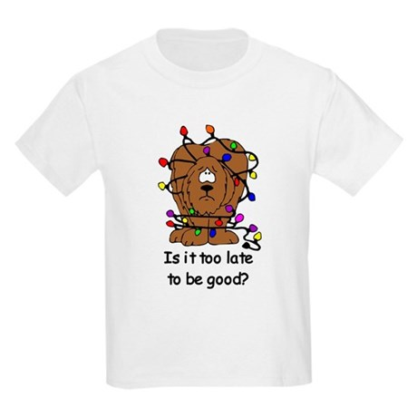 Too late to be good? Kids Light T-Shirt