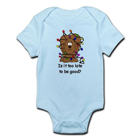 Too late to be good? Infant Bodysuit