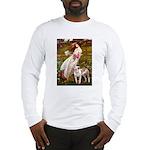 Windflowers / Pitbull Long Sleeve T-Shirt