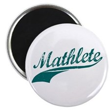 "Mathlete Blue 2.25"" Magnet (10 pack)"