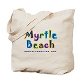MB Tropical Type - Tote or Beach Bag