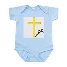 Cross of Christ Infant Creeper