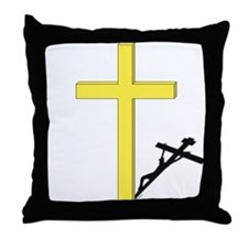Cross of Christ Throw Pillow