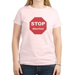 STOP Abortion Women's Light T-Shirt