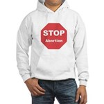 STOP Abortion Hooded Sweatshirt