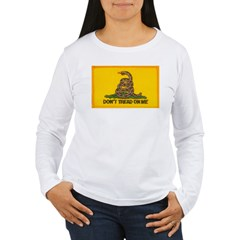 Don't Tread on Me! Women's Long Sleeve T-Shirt