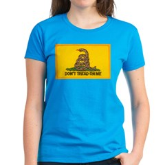 Don't Tread on Me! Women's Dark T-Shirt