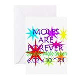 Unique Mole day Greeting Cards (Pk of 10)