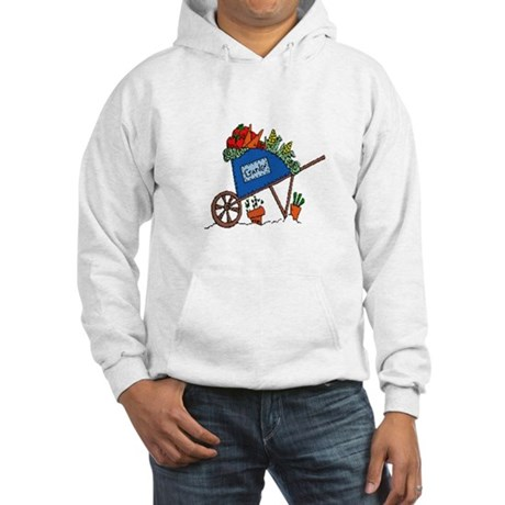 Garden Vegetable Cart Hooded Sweatshirt