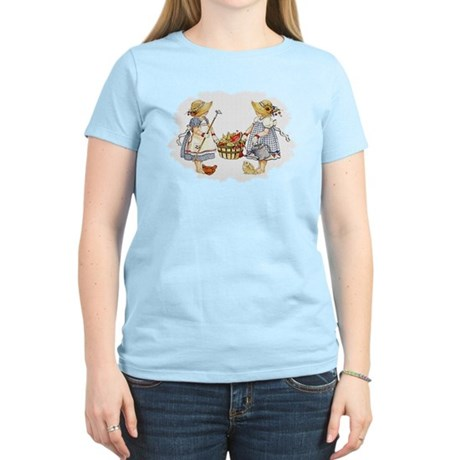 Girls Garden Women's Light T-Shirt