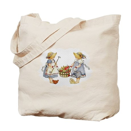 Girls Garden Tote Bag