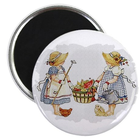 "Girls Garden 2.25"" Magnet (100 pack)"